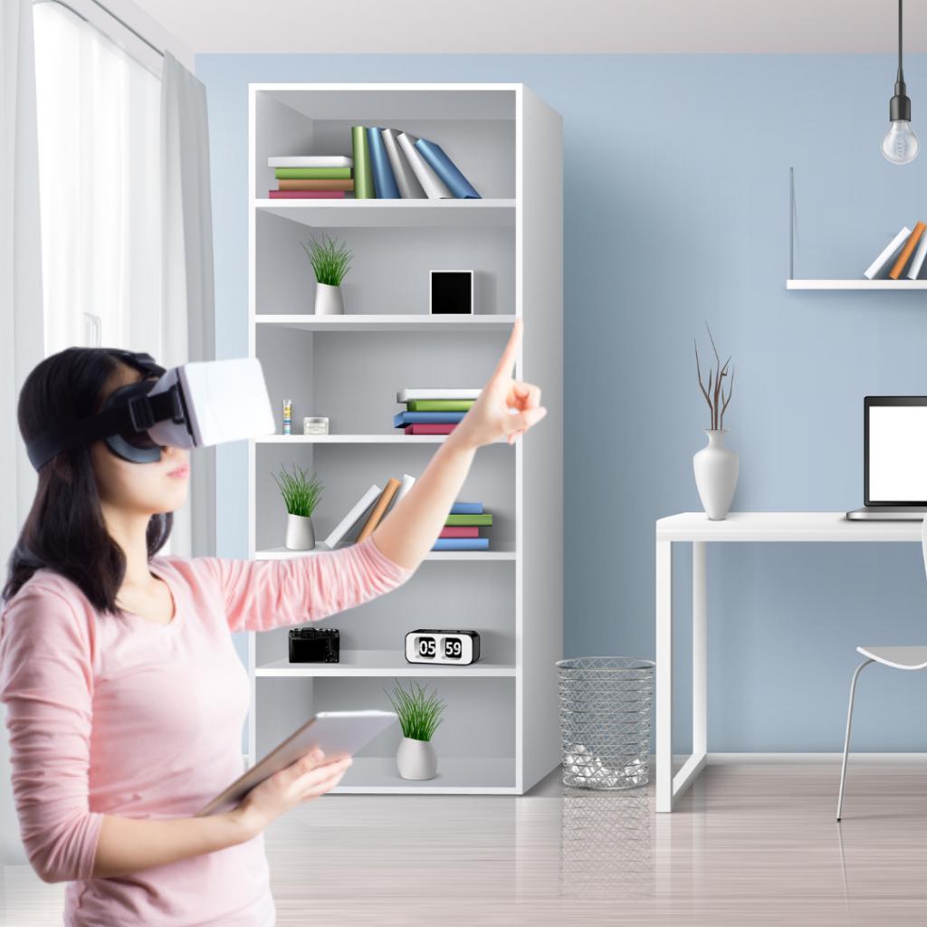 Virtual reality in interior design
